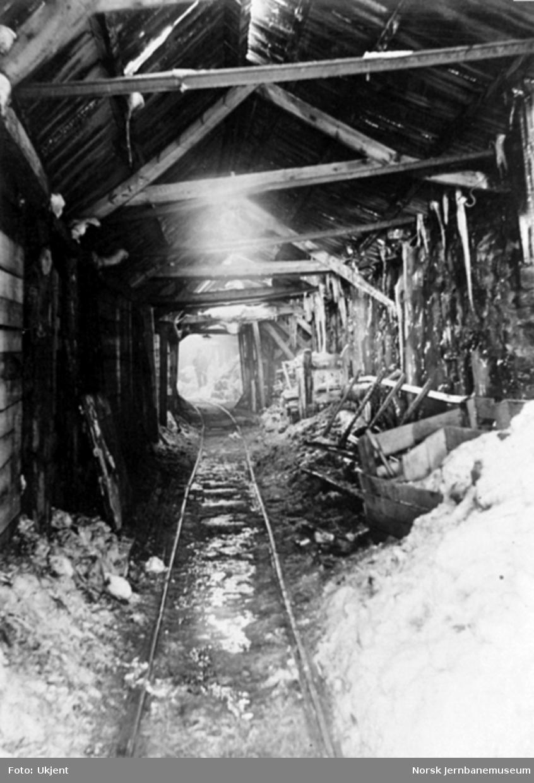 Anlegget av Gravehalsen tunnel; tunnelinnslaget