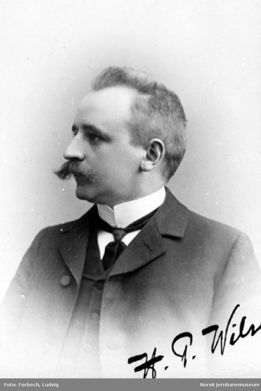Portrett av Hans Peter Wilse