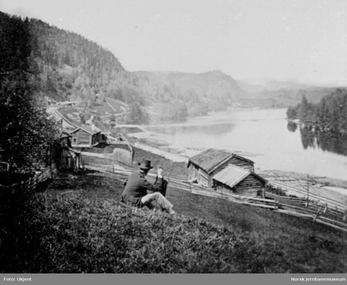 Jernbanetraseen mellom Skotselv og Åmot