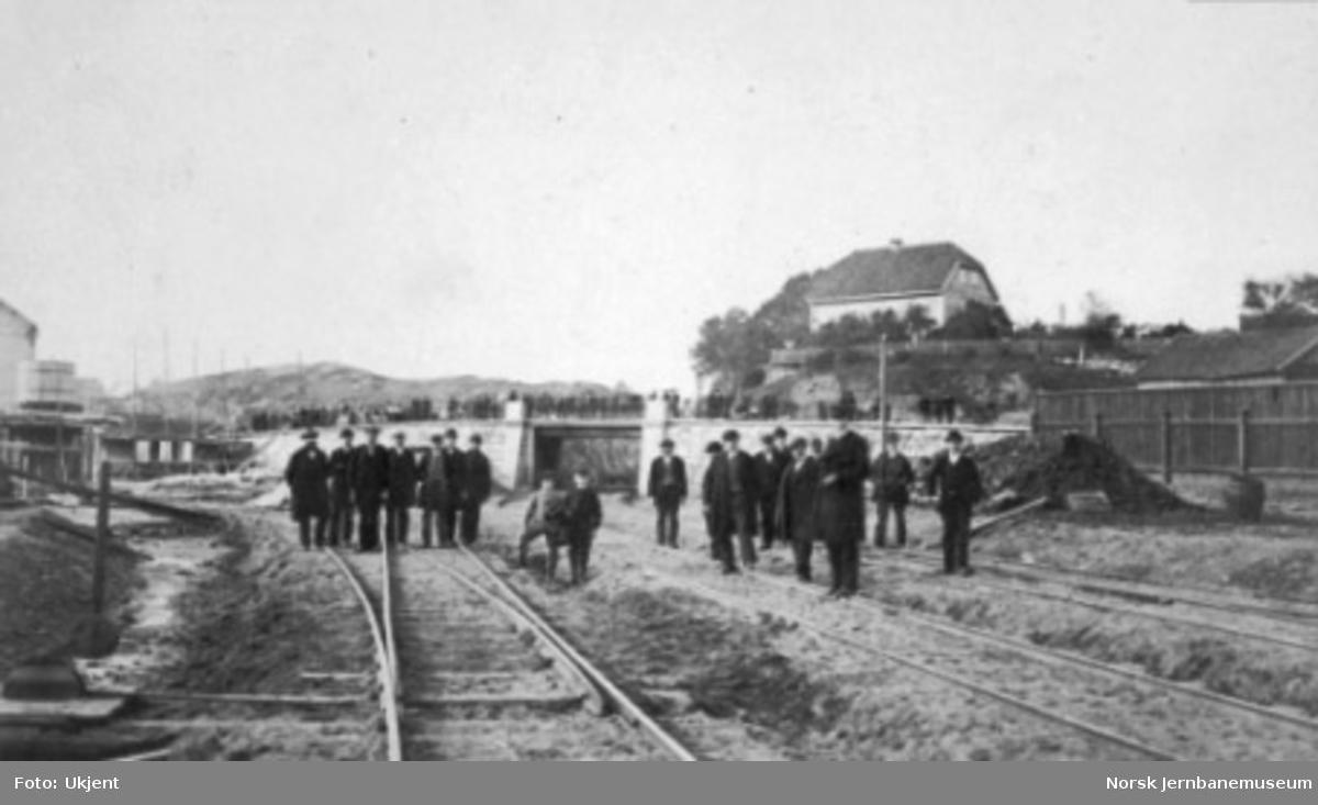 Sporene ut fra Vestbanestasjonen, sett mot vest