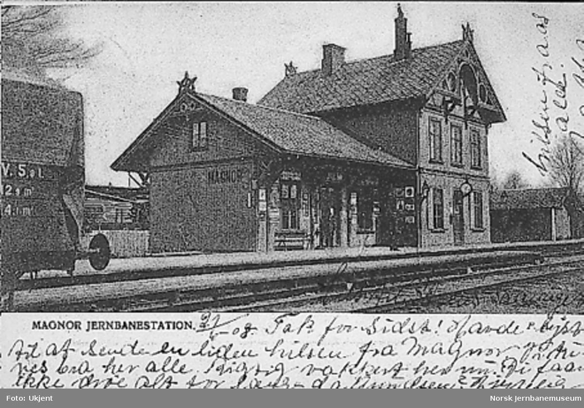 Magnor stasjonsbygning