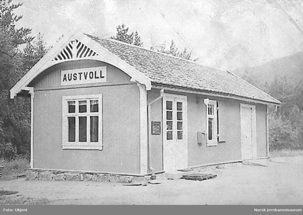 Austvoll stasjonsbygning