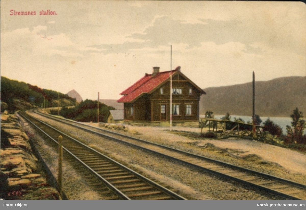 Straumsnes (Strømsnes) stasjon