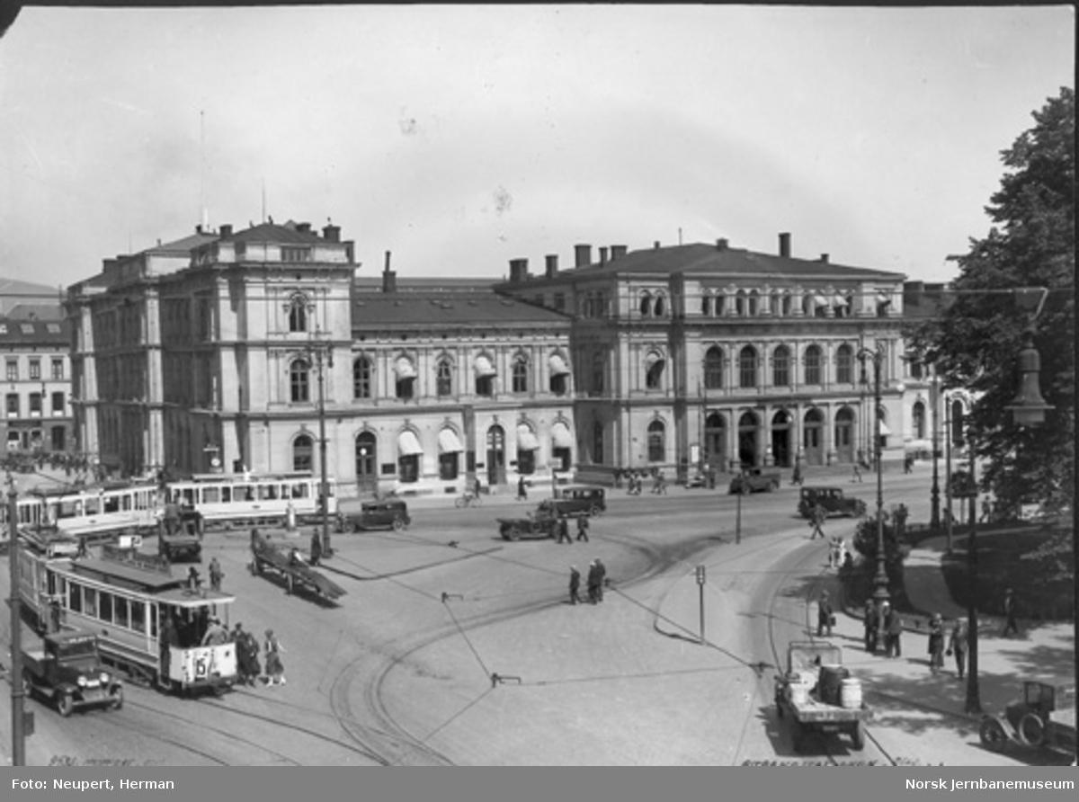 Oslo Østbanestasjon, bysiden
