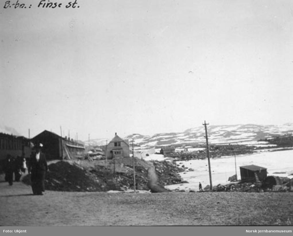 Finse stasjon, oversiktsbilde