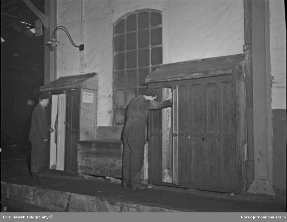Ekspresstoghallen i Lodalen : garderober