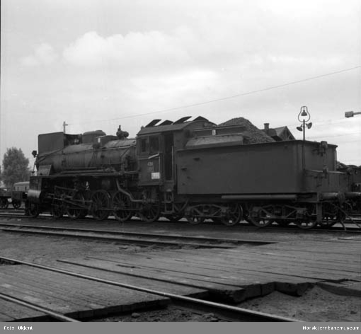 Damplokomotiv type 26c 436