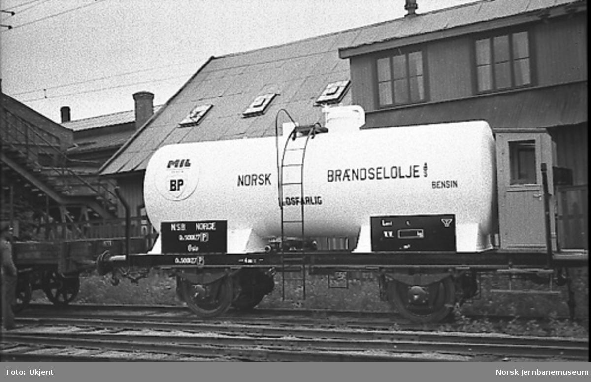 Tankvogn bygget til Norsk Brændselolje