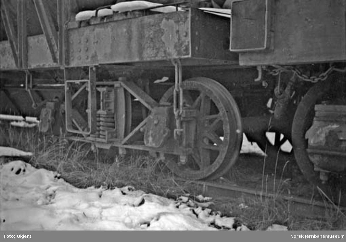 Malmvogner fra Dunderlandsbanen : boggier, koblinger og vognkasse