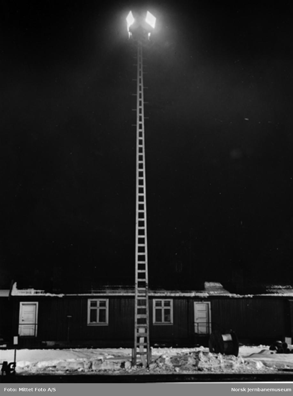 Oslo Ø : tomtebelysning og lystårn