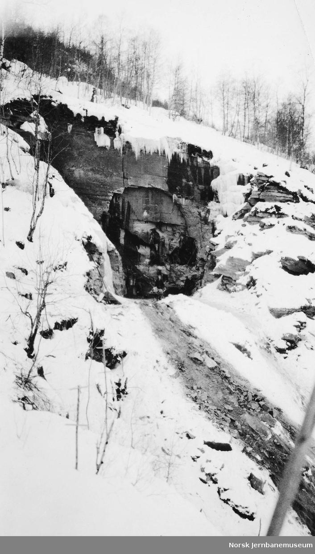 Tunnelinnslag i Skjervet, pel 1695