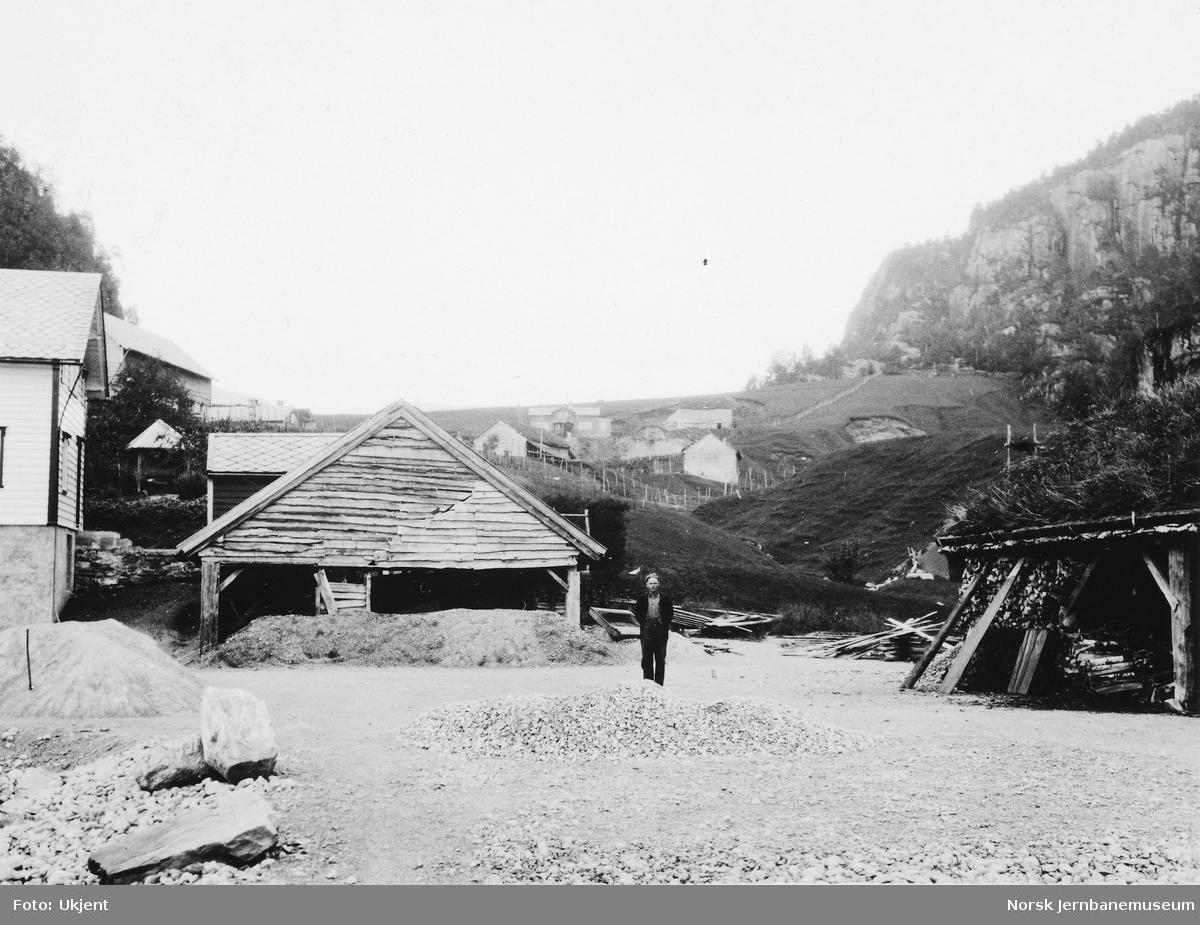 Befaring av prosjektert taubane ved Romarheim