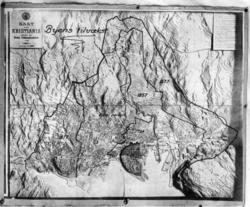 Oslo. Kart.