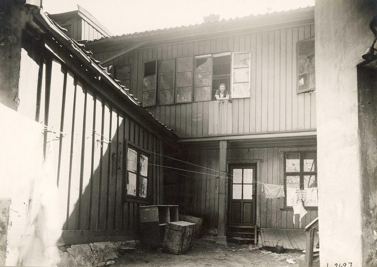 Bakgårdsbygninger i St. Halvards plass 2, Oslo.