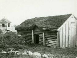 Røykovnstue, Nordmøre Museum, Kristiansund, Møre og Romsdal.