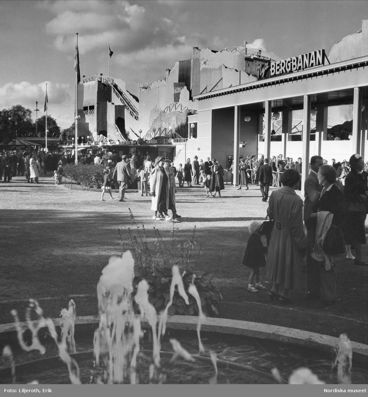 Lisebergs nöjesfält, Göteborg.
