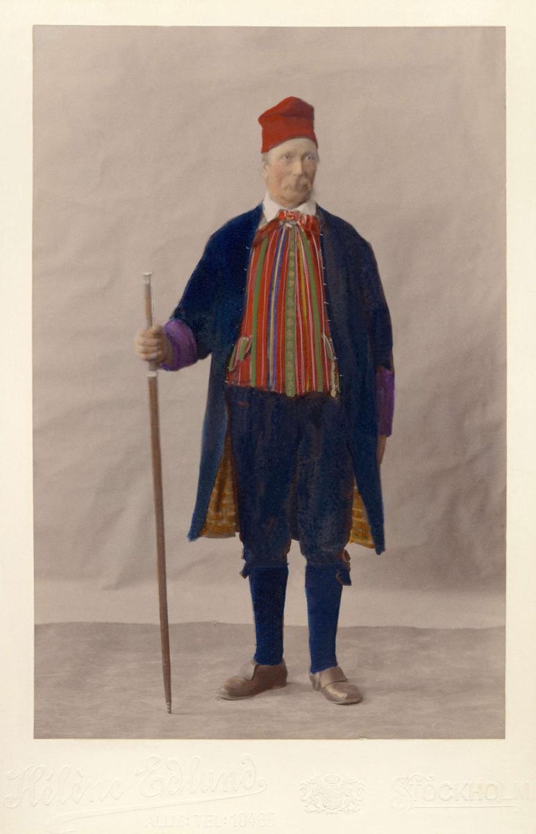Festdräkt från Toarps socken Ås häradd Västergötland 1830.