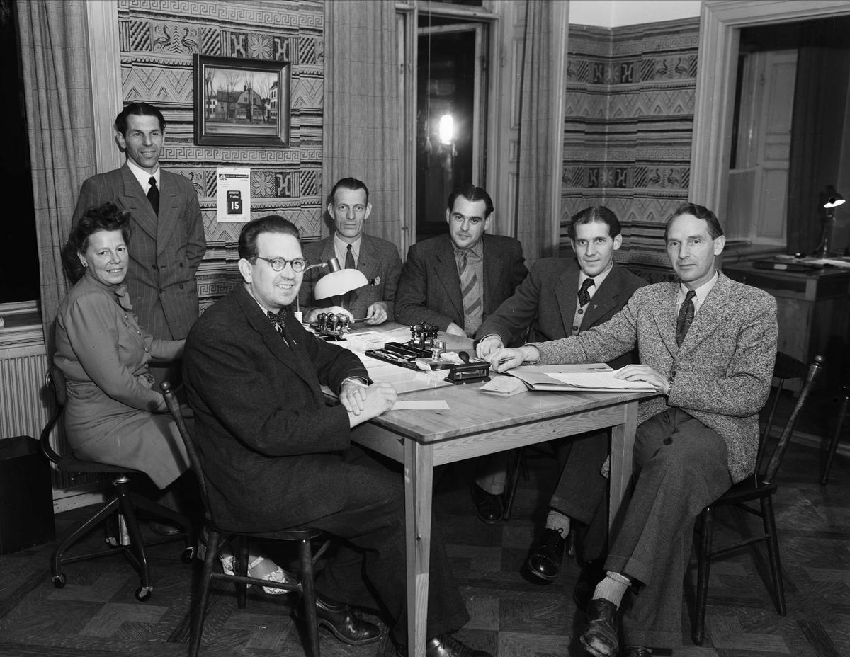Styrelsen i Svenska Handelsarbetareförbundets avdelning 33, Uppsala 1947