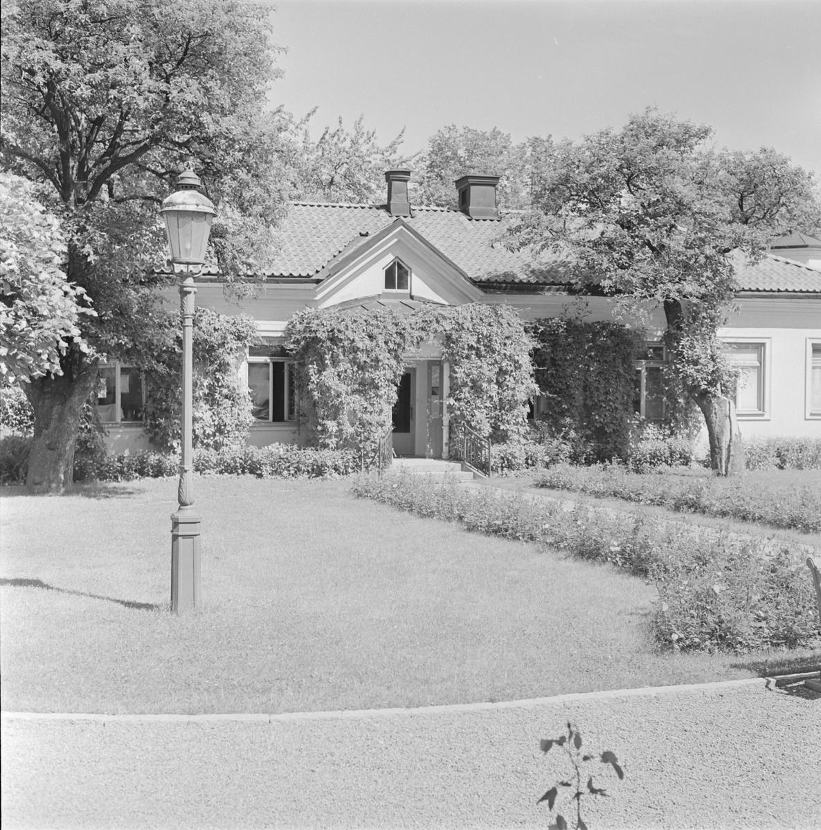 Uppsala läns landstings huvudbyggnad, kvarteret Trädgården, Uppsala 1959