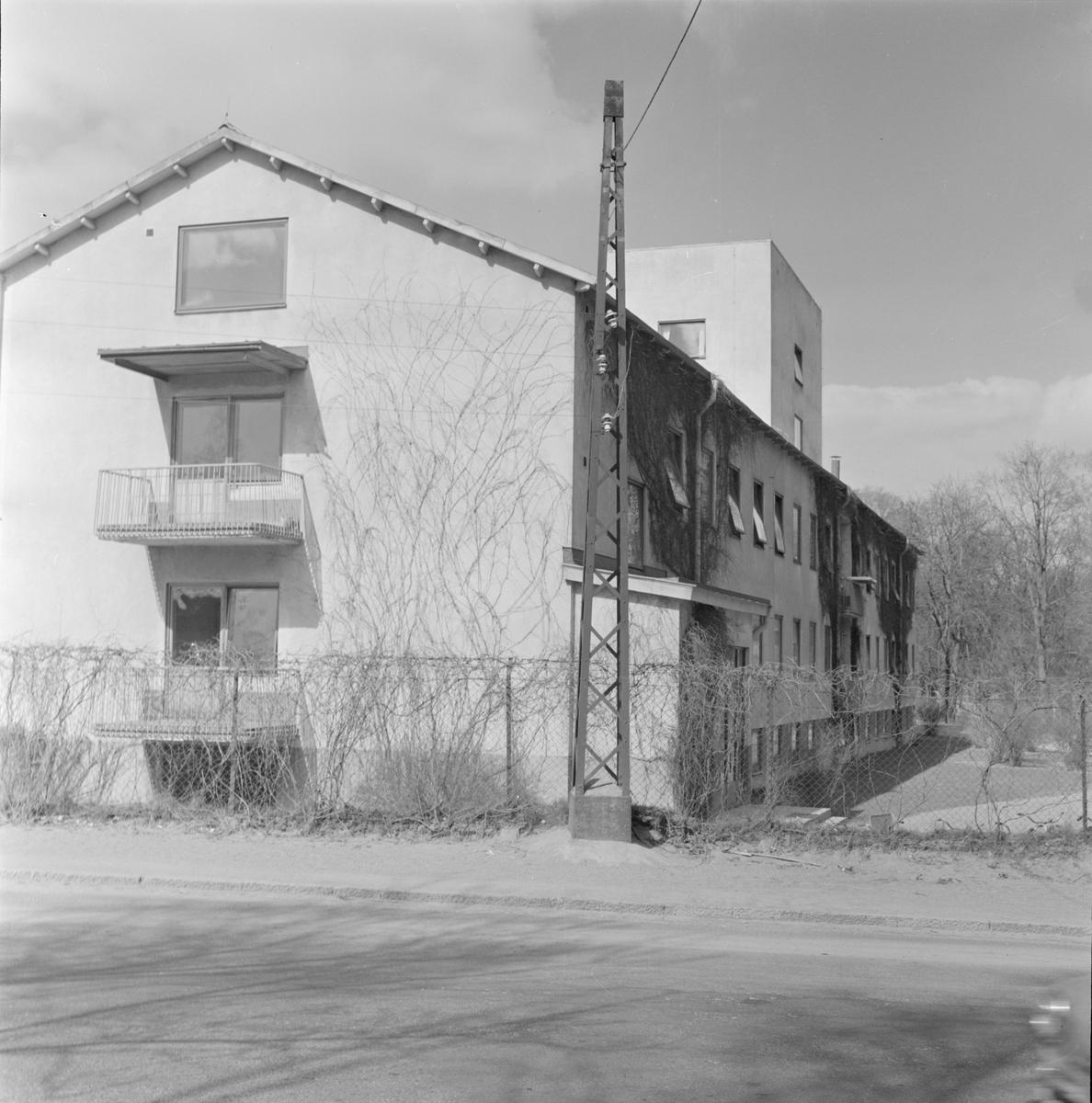 Akademiska sjukhuset, Uppsala 1958 - 1959