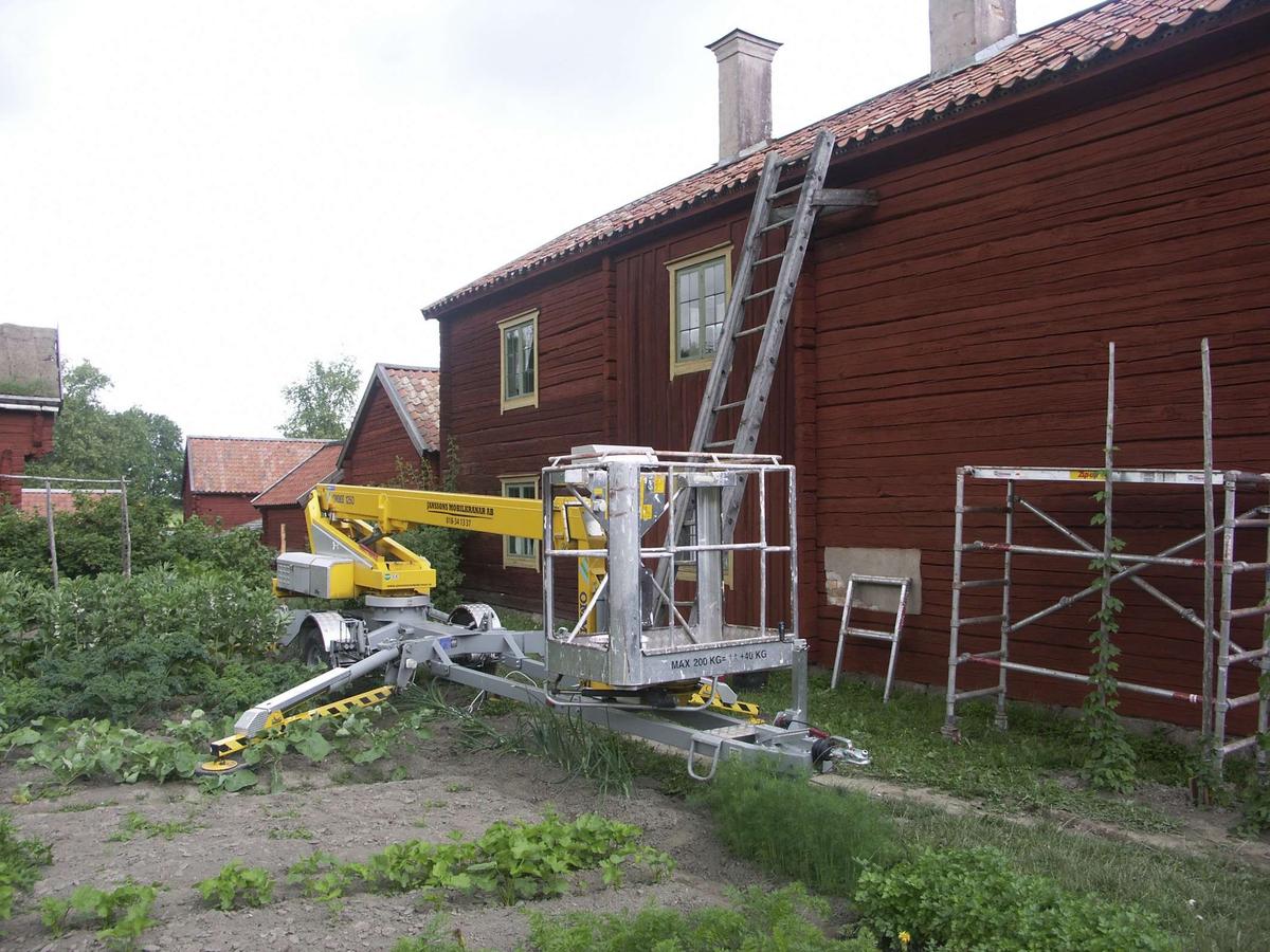 Mangårdsbyggnad i Gränbygården, på friluftsmuseet Disagården, Gamla Uppsala, Uppsala.