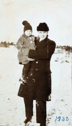 Portrett av Anne og Alfred Thommassen, Ågedalstrand Bjelland senere Audnedal.