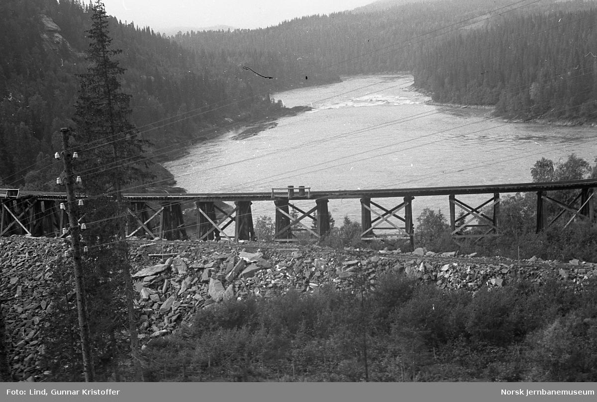 Dunderlandsbanens ombygging : Reinforsdalen viadukt