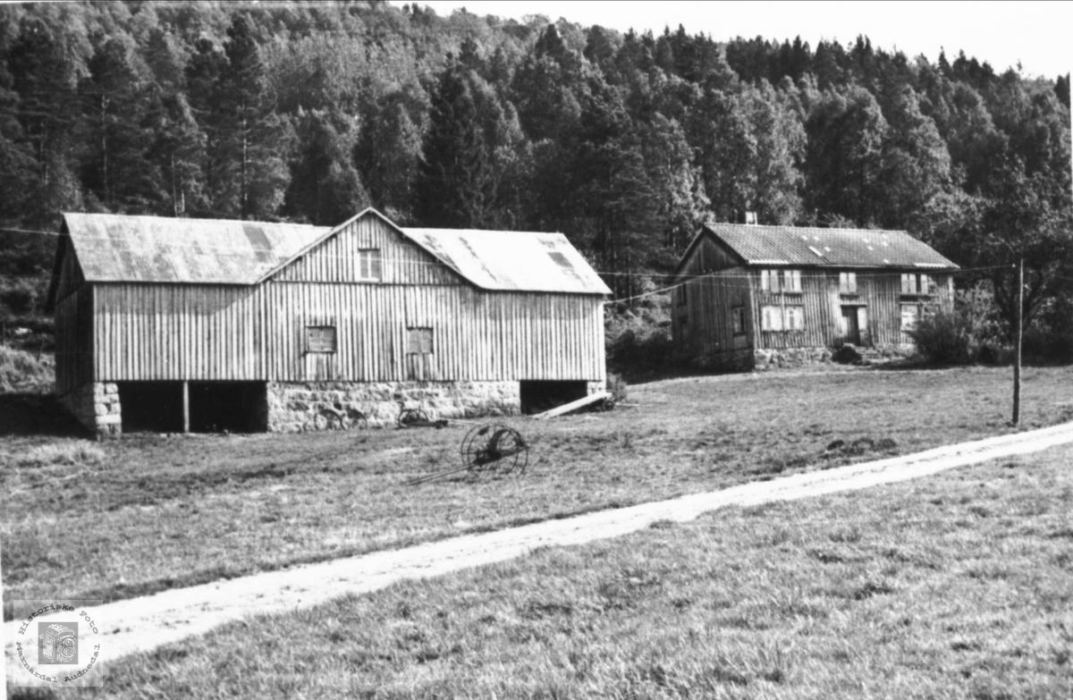 """Garden """"Der aust"""" Roland i Bjelland."""