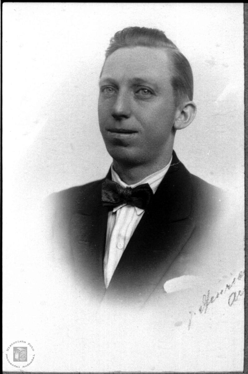 Portrett Torleif Birkeli tilholdsted ukjen.