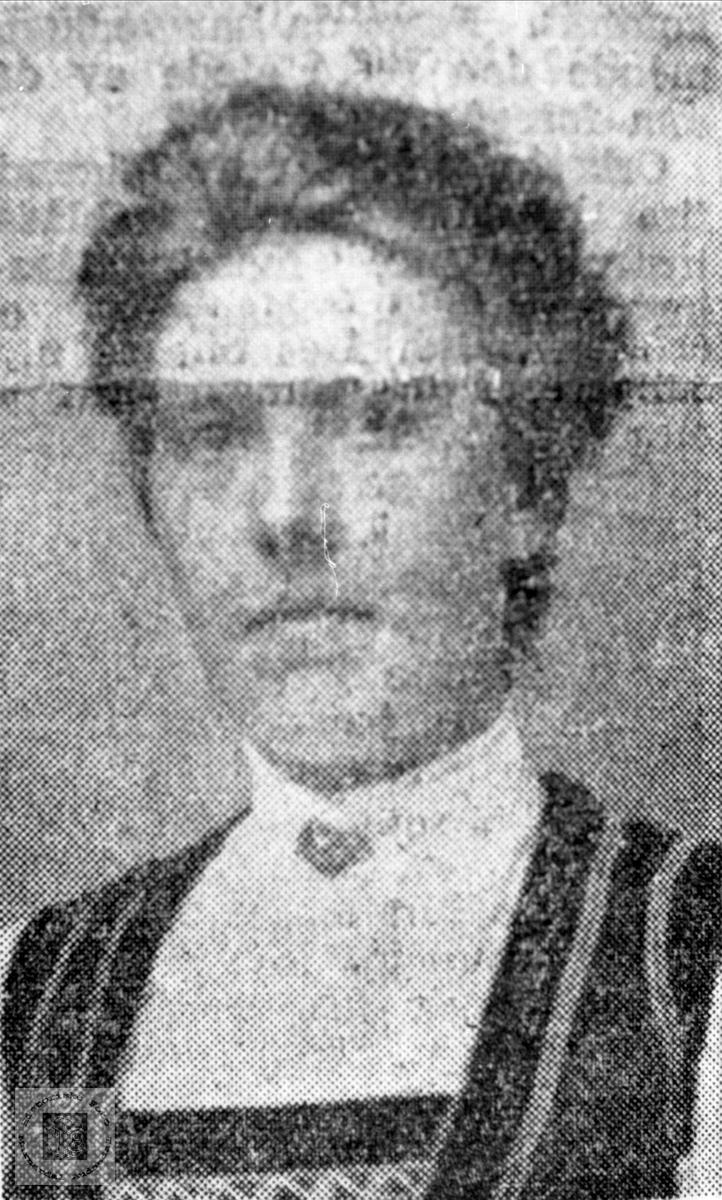 Portrett av Tomine Sundbø, Bjelland.