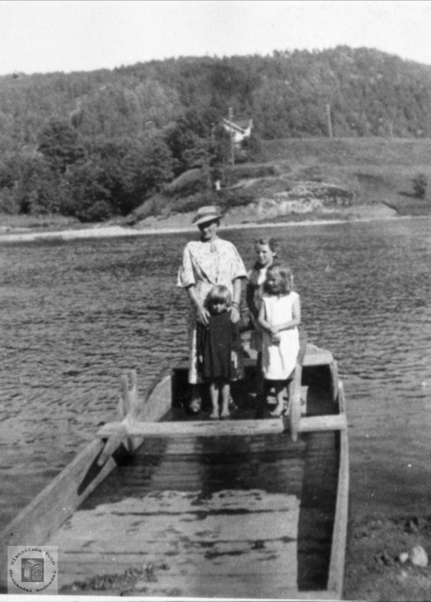 Båten til Mjåland.
