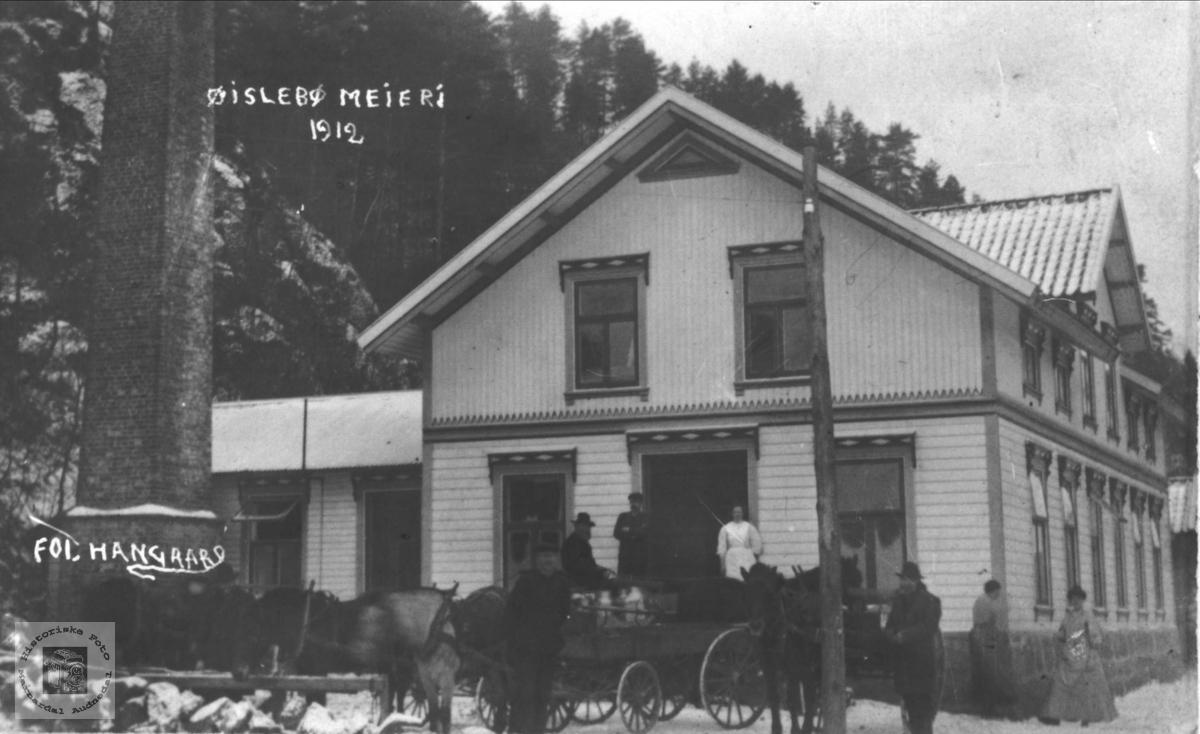 Øyslebø Meieri 1912.
