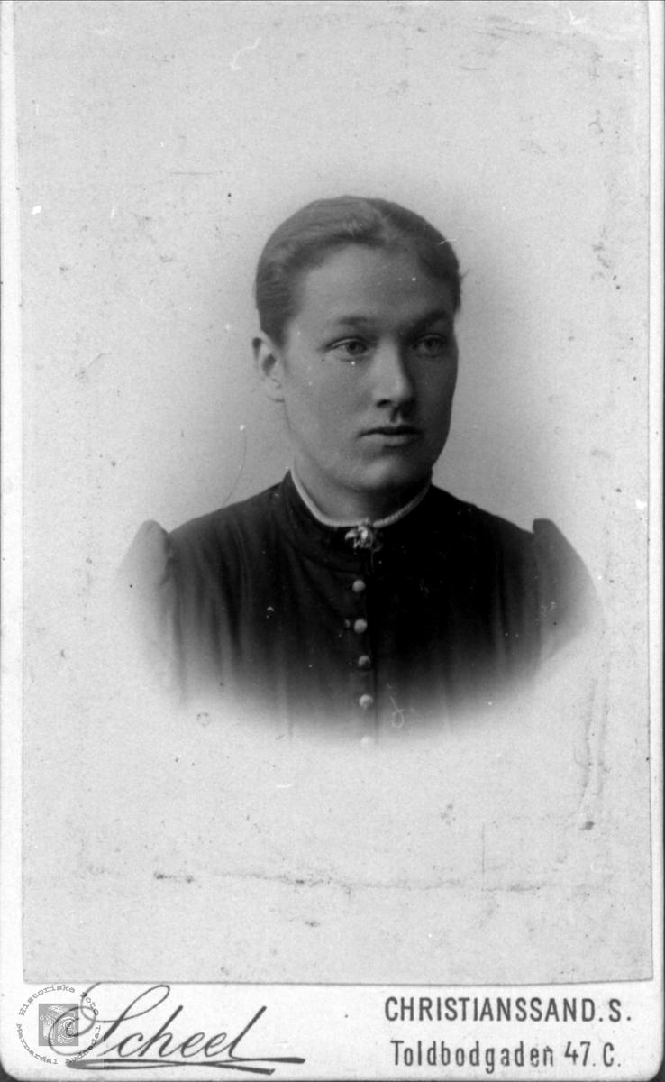 Portrett av Anna Hærås, Finsland.