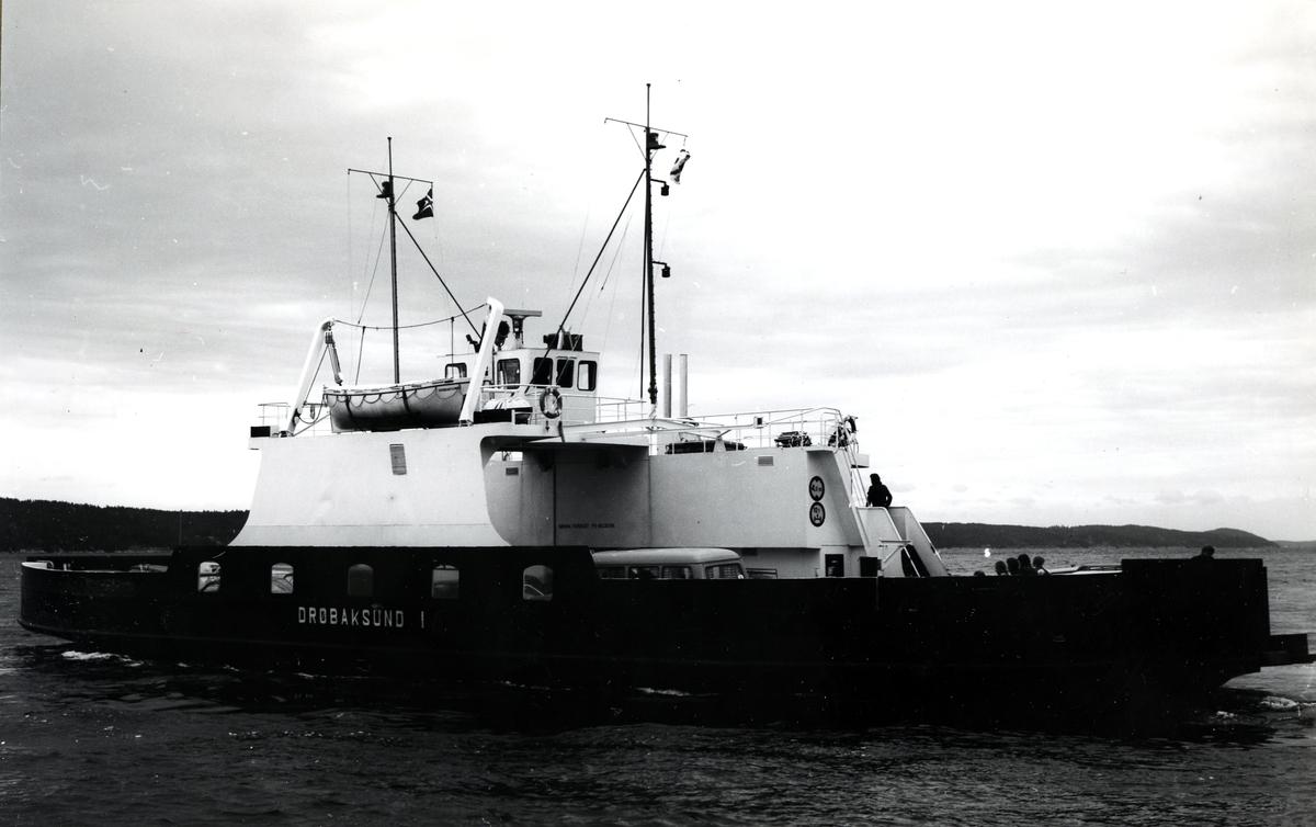 M/F Drøbaksund I (Ex. Kvarven, Holmen)(b.1963, A/S Svendborg Skibsværft, Svendborg)
