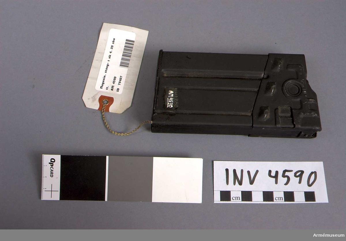 Tillv. år 1980-01.Krönt C 01/80.  Samhörande nr är 4586-4592.