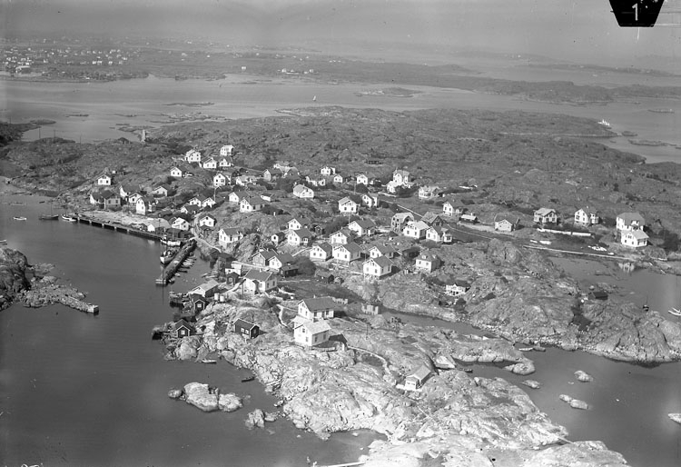 Fotö, flygbild 1935.