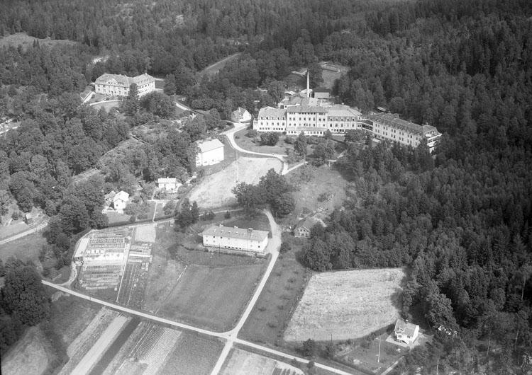 """Enligt AB Flygtrafik Bengtsfors: """"Svenshögens sanatorium Bohuslän""""."""