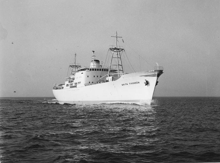 Fartyget 156 M/S BritaThordén.
