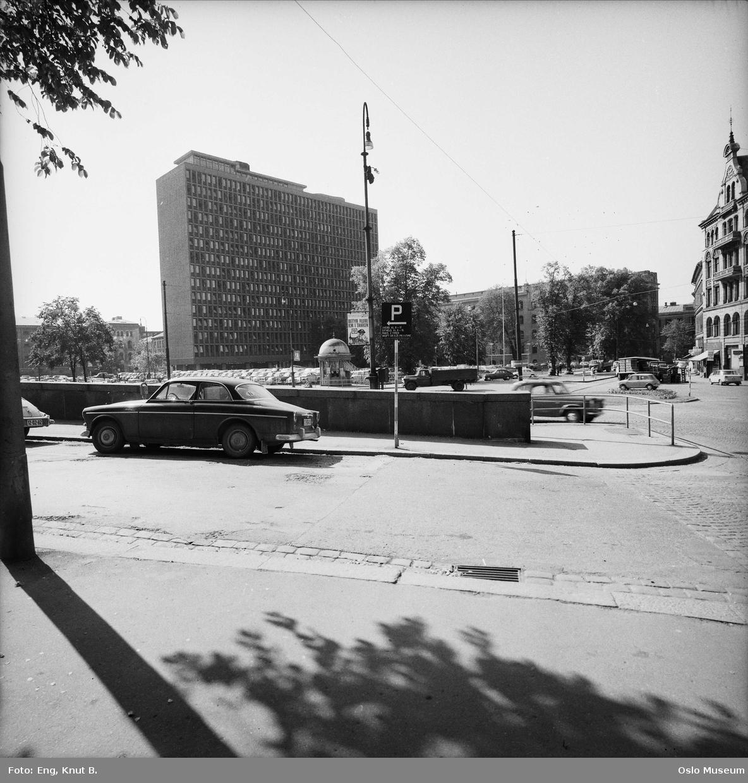 gate, park, kiosk regjeringskvartalet, høyblokken,