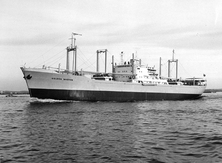 Fartyg 168 M/S Golden Master.