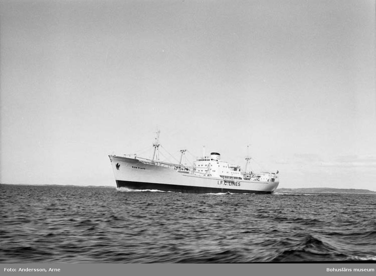 M/S Bow Plate DWT.7.300 Rederi Skips A/S Hassel, Bergen Norge Kölsträckning 54-10-11 Nr. 143 Leverans 55-04-26 Lastfartyg