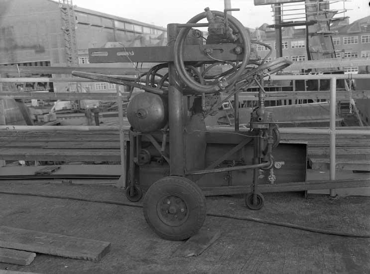 Maskin för uppkilning av fartyg.