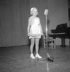 Amatörtävling med Hagge Geigert 1956