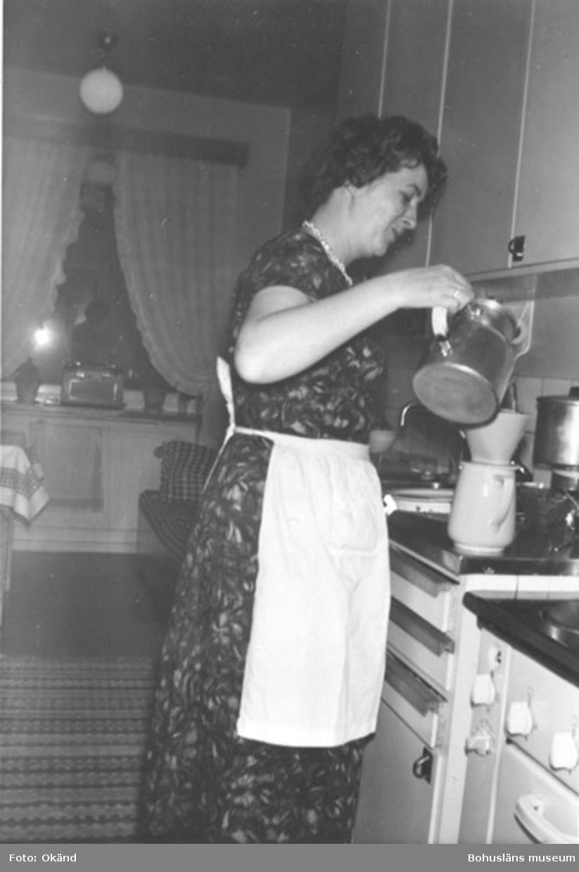 Första lägenheten på Tallvägen 1952