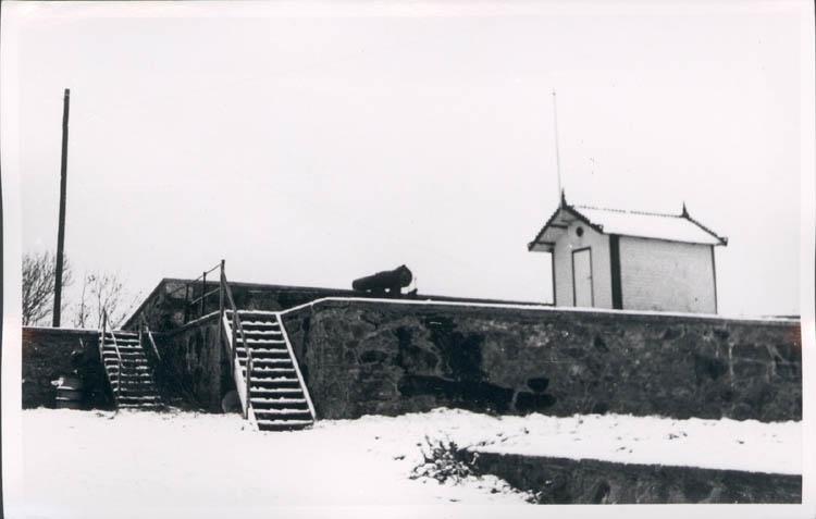 """""""Troja"""", kung Oscar II:s tennispaviljong på Carlstens fästning"""