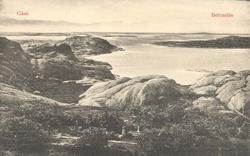 """Tryckt text på kortet: """"Gåsö. Hafsbad. (Bohuslän)."""" """"Förlag"""