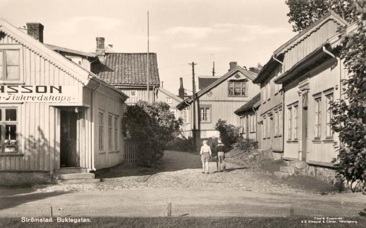 Buktegatan i Strömstad.