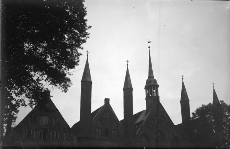 """Enligt text som medföljde bilden: """"Lübeck. Heilig geist hospits? 24 el. 25/9 13."""""""