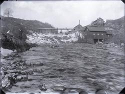 """""""Brålands såg och Kvarn, nu riven- fanns nog omkring 1920."""""""