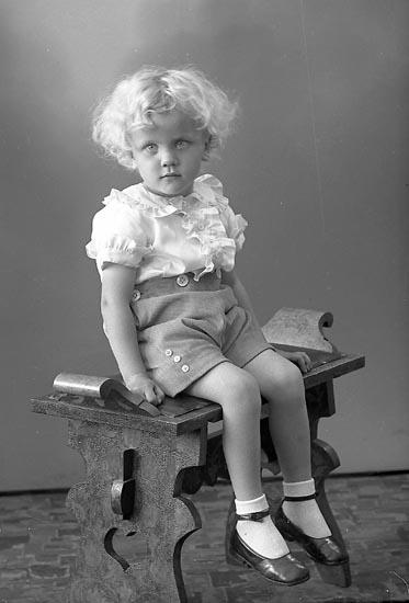 "Enligt fotograrens journal nr 6 1930-1943: ""Olsson, Bengt Känstorp, St. Höga""."